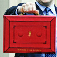 The famous red briefcase